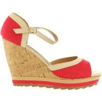 Zapatos Mujer Sandalias Maria Mare 65895 Rojo