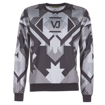 textil Hombre sudaderas Versace Jeans B7GQA7F5 Negro / Gris