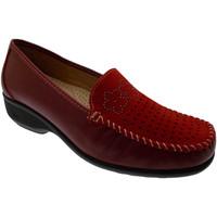 Zapatos Mujer Mocasín Calzaturificio Loren LOK3971ro rosso