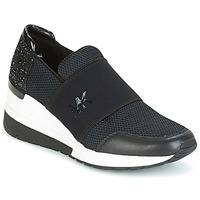 Zapatos Mujer Zapatillas bajas MICHAEL Michael Kors FELIX TRAINER Negro