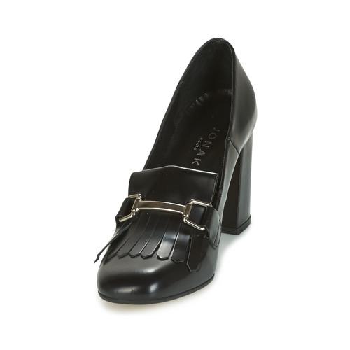 Negro Valvo Zapatos Mujer Jonak Mocasín 34ASc5RjLq