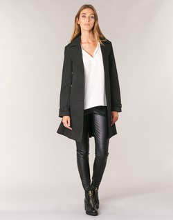textil Mujer trench MICHAEL Michael Kors PLEATED TRENCH Negro
