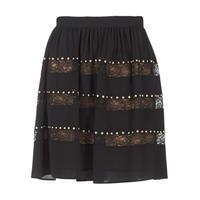 textil Mujer Faldas MICHAEL Michael Kors HT/ LACE MIX Negro
