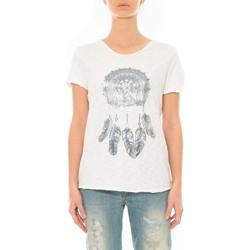 textil Mujer Camisetas manga corta By La Vitrine Tee Shirt Blanc Cake V Blanco