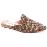Zapatos Mujer Zuecos (Mules) Humat ZUECO TRENZA Beige