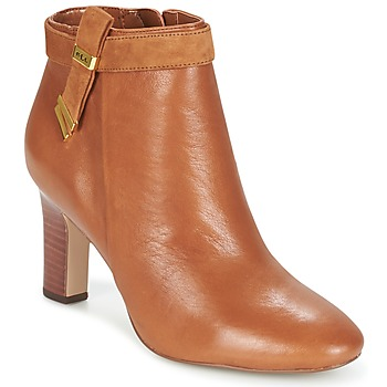 Zapatos Mujer Botines Ralph Lauren BRIN Cognac