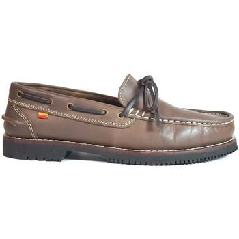 Zapatos Mujer Zapatos náuticos La Valenciana Zapatos Apache  Olivenza Marrón Marrón