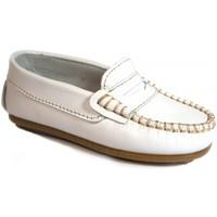 Zapatos Niños Mocasín La Valenciana Zapatos Niños  045 Blanco Blanco