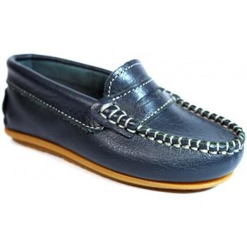 Zapatos Niños Mocasín La Valenciana Zapatos Niños  045 Marino Azul