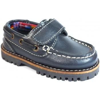 Zapatos Niños Zapatos náuticos La Valenciana Zapatos Niños  031 Marino Azul