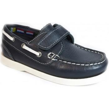 Zapatos Niños Zapatos náuticos La Valenciana Zapatos Niños  020 Marino Azul