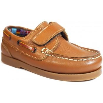 Zapatos Niños Zapatos náuticos La Valenciana Zapatos Niños  020 Cuero Marrón