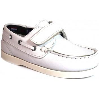 Zapatos Niños Zapatos náuticos La Valenciana Zapatos Niños  020 Blanco Blanco
