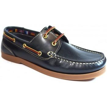 Zapatos Hombre Zapatos náuticos La Valenciana Zapatos  1688 Marino Azul