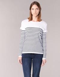 textil Mujer jerséis Betty London HOMI Marino / Blanco