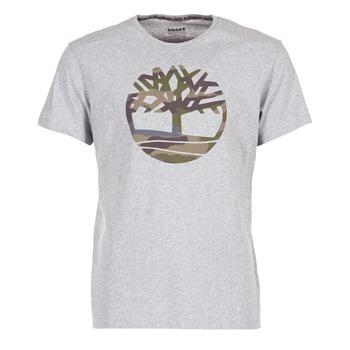 textil Hombre camisetas manga corta Timberland DUNSTAN RIVER CAMO PRINT Gris