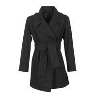textil Mujer Abrigos Kaporal BANJO Negro