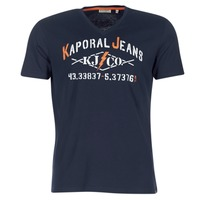 textil Hombre camisetas manga corta Kaporal MAKAO Marino