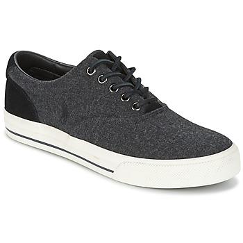Zapatos Hombre Zapatillas bajas Polo Ralph Lauren VAUGHN Gris