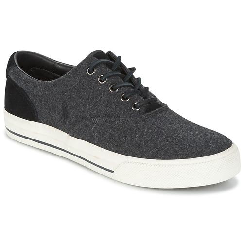 Zapatos especiales para hombres y mujeres Polo Ralph Lauren VAUGHN Gris