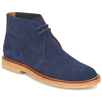 Zapatos Hombre Botas de caña baja Polo Ralph Lauren KARLYLE Marino