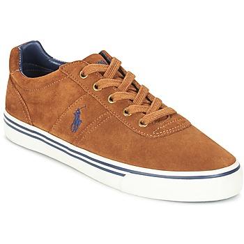 Zapatos Hombre Zapatillas bajas Ralph Lauren HANFORD COGNAC