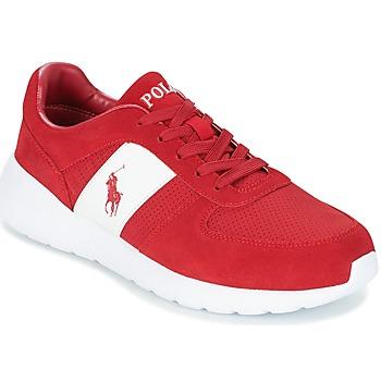 Zapatos Hombre Zapatillas bajas Polo Ralph Lauren CORDELL Rojo