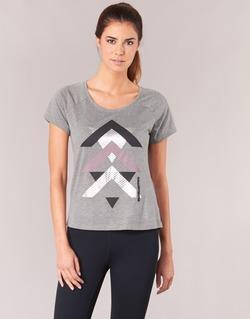 textil Mujer camisetas manga corta Only Play LINDA Gris