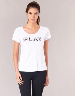 textil Mujer camisetas manga corta Only Play LINDA Blanco