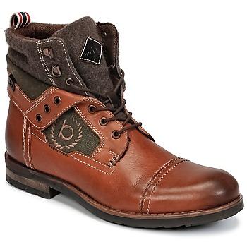 Zapatos Hombre Botas de caña baja Bugatti MATINE Cognac