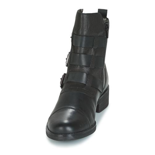 Mujer De Baja Pomo Zapatos Botas Caña Bugatti Gris EHD29I