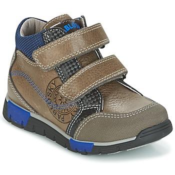 Zapatos Niño Zapatillas altas Pablosky DENTELY Gris / Azul