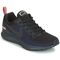 Zapatos Mujer Running / trail Nike AIR ZOOM PEGASUS 34 SHIELD Negro / Azul