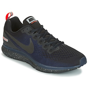 Zapatos Hombre Running / trail Nike AIR ZOOM PEGASUS 34 SHIELD Negro / Azul