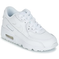 Zapatos Niño Zapatillas bajas Nike AIR MAX 90 LEATHER PRE-SCHOOL Blanco
