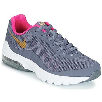 Zapatos Niña Zapatillas bajas Nike AIR MAX INVIGOR GRADE SCHOOL Azul / Rosa