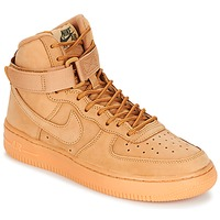 Zapatos Niños Zapatillas altas Nike AIR FORCE 1 HIGH WB GRADE SCHOOL Miel