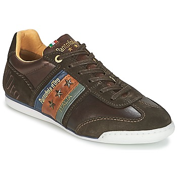 Zapatos Hombre Zapatillas bajas Pantofola d'Oro IMOLA UOMO LOW Marrón