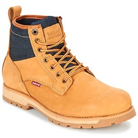 Zapatos Hombre Botas de caña baja Levi's LOGAN Amarillo