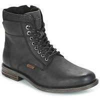 Zapatos Hombre Botas de caña baja Levi's EMERSON COLLAR Negro