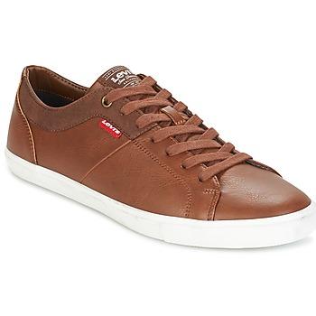 Zapatos Hombre Zapatillas bajas Levi's WOODS Marrón