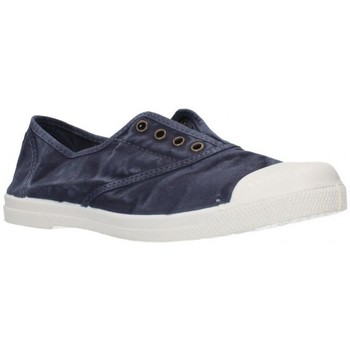 Zapatos Mujer Zapatillas bajas Natural World 102E Mujer Azul marino bleu
