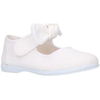 Zapatos Niña Bailarinas-manoletinas Batilas 10601 Niña Blanco blanc