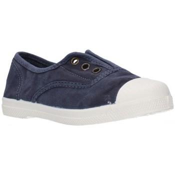 Zapatos Niño Zapatillas bajas Natural World LONAS NIÑOS - bleu