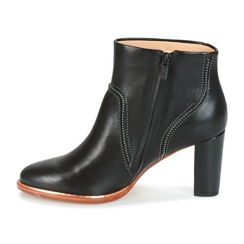 Betty Mujer Negro Ellis Clarks Zapatos Botines XiuPZk