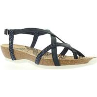 Zapatos Mujer Sandalias Panama Jack DARIA SNAKE B1 Azul