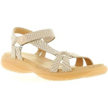 Zapatos Mujer Sandalias Panama Jack NEUS SNAKE B5 Rosa