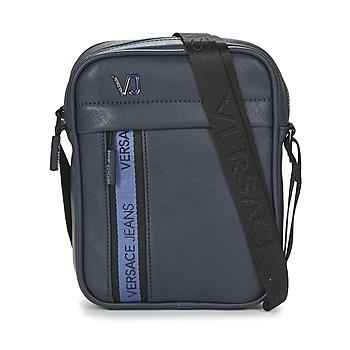 Bolsos Hombre Bolso pequeño / Cartera Versace Jeans SAKO Azul