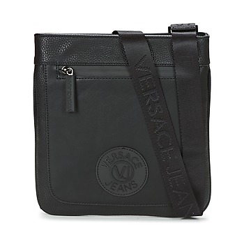 Bolsos Hombre Bolso pequeño / Cartera Versace Jeans ELOUI Negro
