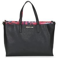 Bolsos Mujer Bolso shopping Versace Jeans ANTALOS Negro / Rojo / Multicolor